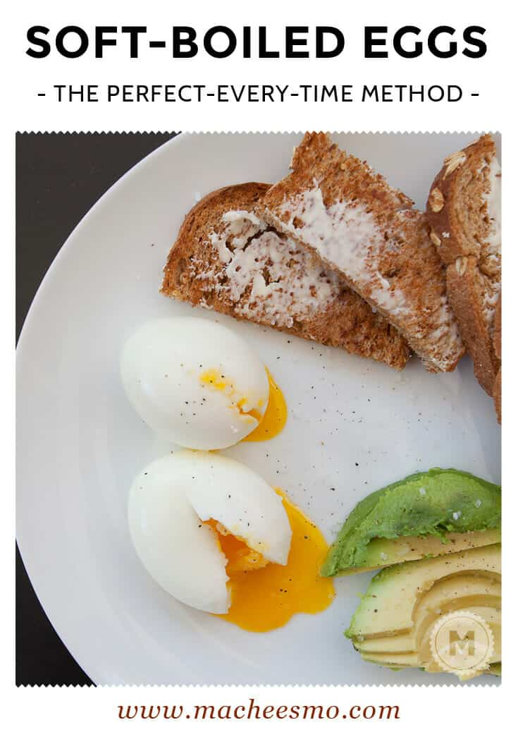 This is simply the best way I've discovered to make perfect soft boiled eggs every single time. Do it!