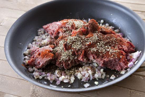 spices for homemade taquitos