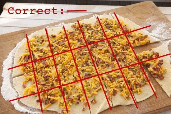 Bacon Cheese Pull Aparts Recipe
