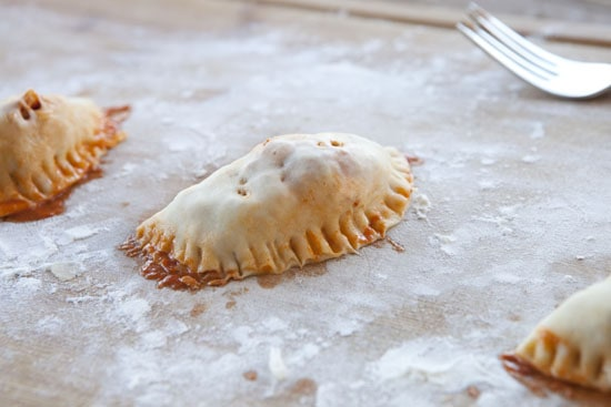 formed Pulled Chicken Empanadas