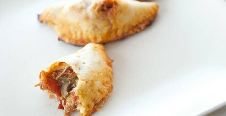 Pulled Chicken Empanadas Recipe Macheesmo