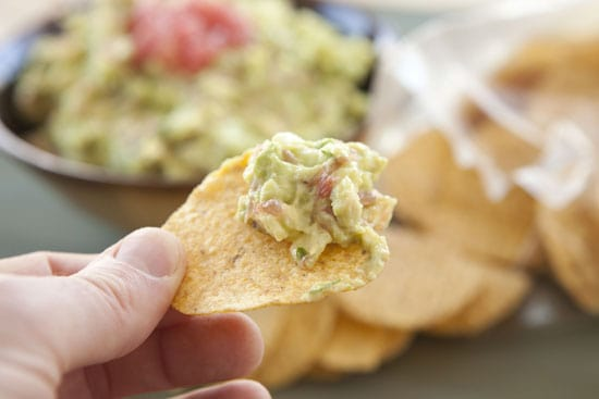 Grapefruit Guacamole from Macheesmo