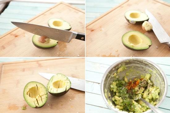 guac for Guacamole Omelet - macheesmo.com