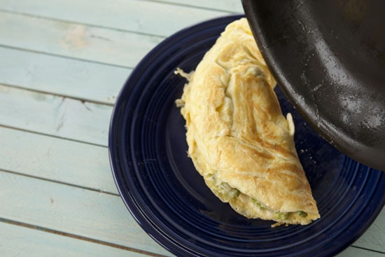 done - Guacamole Omelet