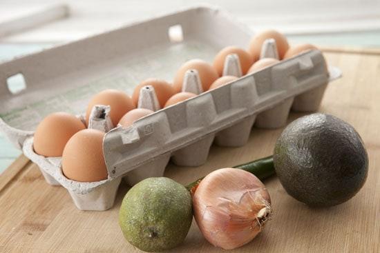 basics for Guacamole Omelet