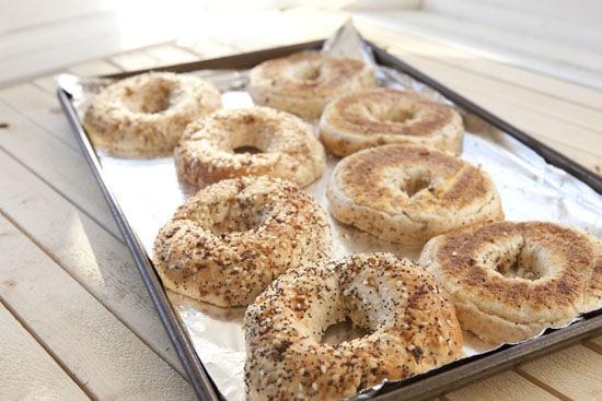 bagels for Vegetarian Bagel Sandwich