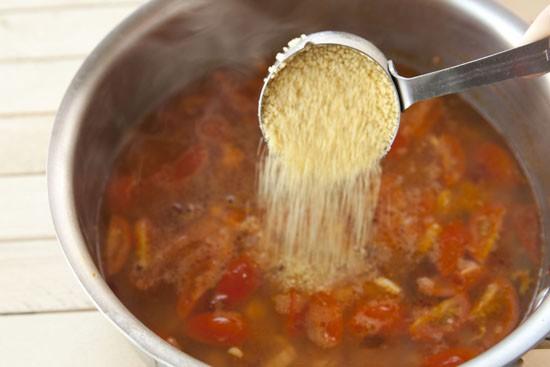 couscous into Chipotle Chicken Couscous