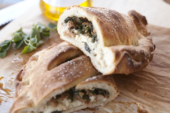 Sausage and Chard Calzones from Macheesmo