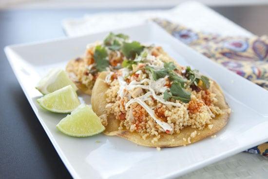 Chipotle Chicken Couscous Recipe from Macheesmo - macheesmo.com
