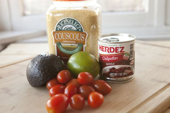 basics for Chipotle Chicken Couscous