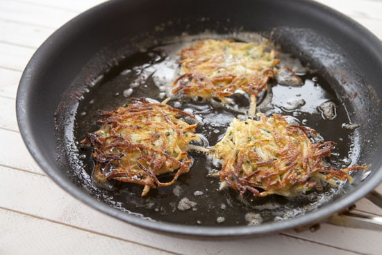 fried up crisp - Jerusalem Latkes