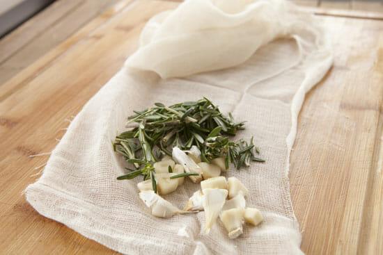 Herbs for Homemade Farmers cheese