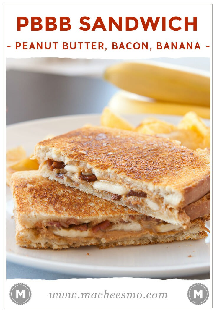 Peanut Butter Bacon Sandwiches: A savory peanut butter sandwich stuffed with bananas and crispy bacon and grilled to perfection. Be sure to check out the post for my sure-fire cooking technique for crispy bacon!