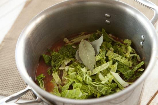 cabbage for Savoy Stew