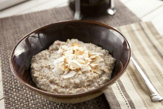 oatmeal - Coconut Oatmeal