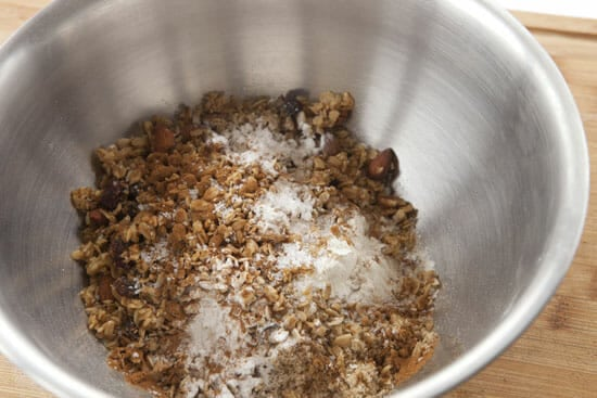 dry stuff - Granola Muffins
