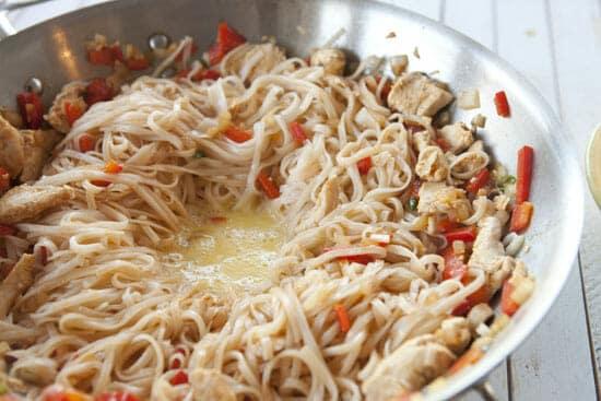eggs in Hot Pepper Noodles
