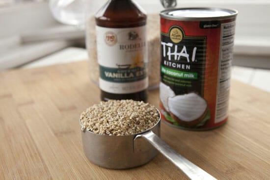 basics of Coconut Oatmeal