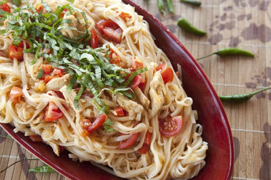 Hot Pepper Noodles from Macheesmo