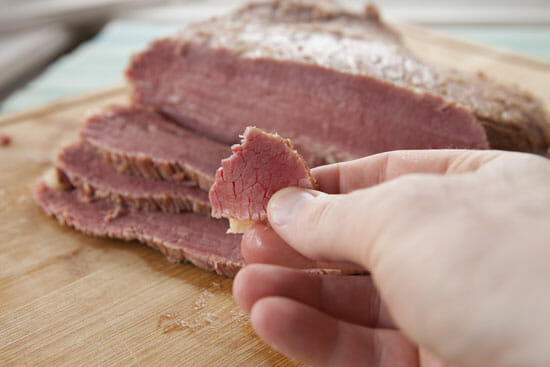 Homemade Corned Beef piece
