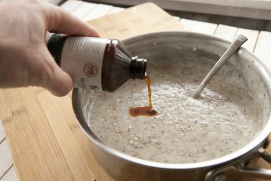 vanilla Coconut Oatmeal
