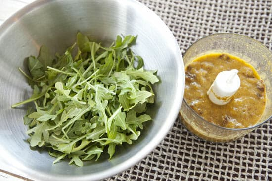 arugula for Mango Chicken Salad