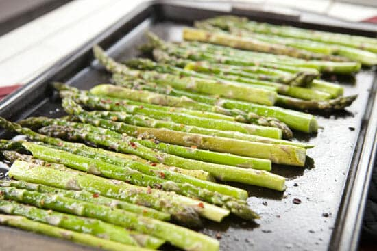roasted - Asparagus Bearnaise