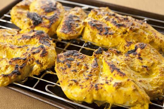 charred chicken for Homemade Chicken Tikka Masala