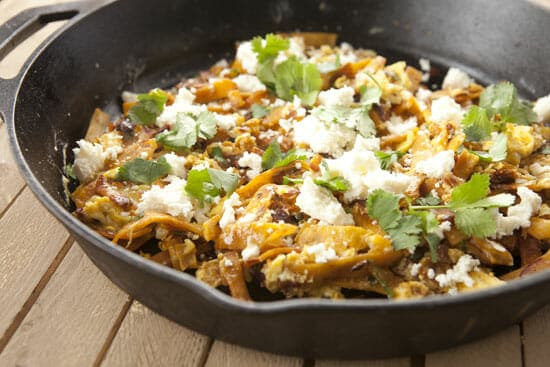 Chipotle Chilaquiles Recipe from Macheesmo