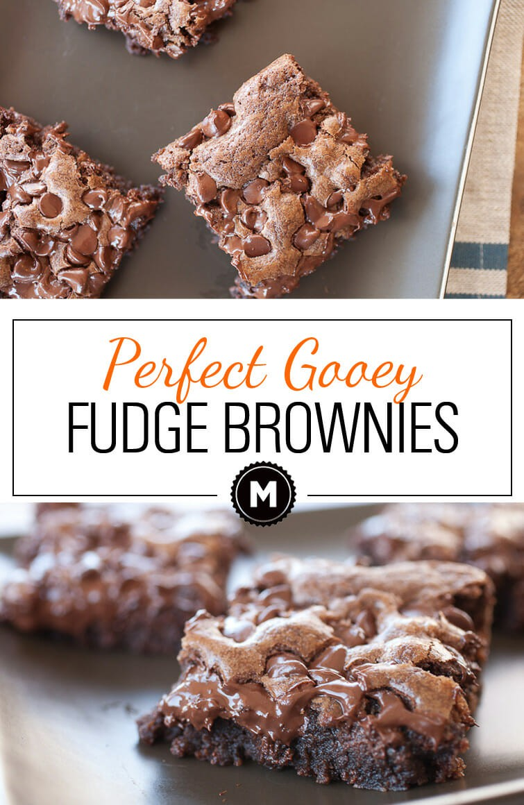 Fantastic gooey Fudge Brownies from Scratch that are dense and chocolatey. Easy to make and totally addictive.