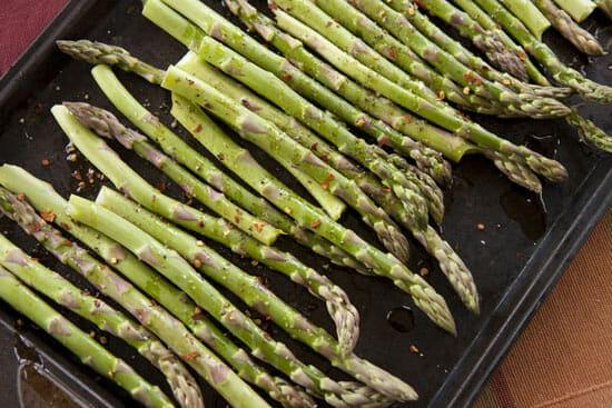 ready to go - Asparagus Bearnaise