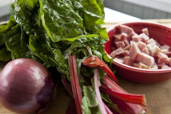 Ham Breakfast Bowl ingredients
