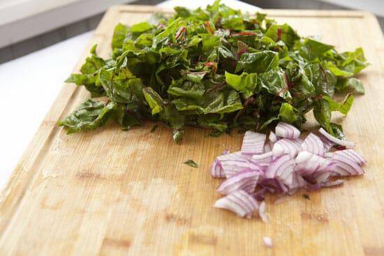 veggies for Ham Breakfast Bowl