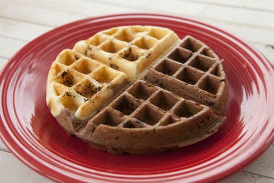 two face Tiramisu Waffles
