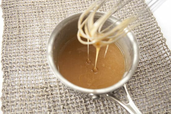 caramel for Chocolate Pretzel Ice Cream