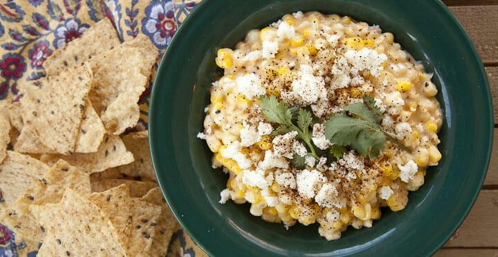 Elote Dip Recipe Mexican Street Corn Macheesmo