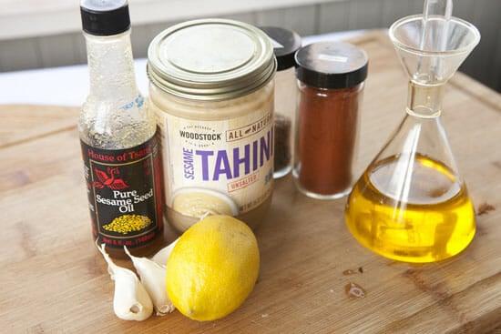 other ingredients - Homemade Baba Ganoush