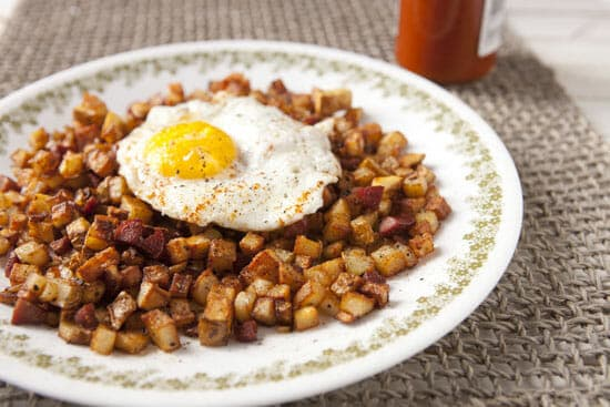 Hot Dog Hash ~ Macheesmo