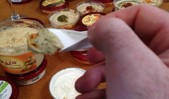 Hummus tasting!