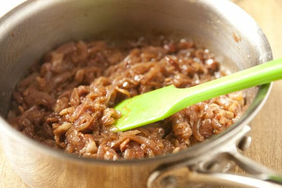 bacon jam for the Asparagus Flatbread recipe