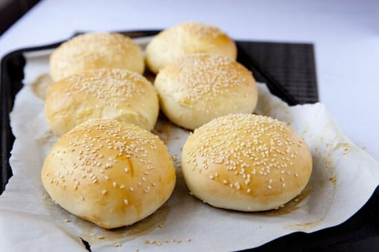 20 minutes should do the trick. Brioche Burger Buns from Macheesmo