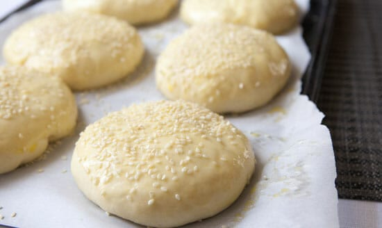 Ready to bake! Brioche Burger Buns ~ Macheesmo