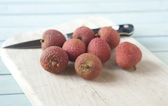 Strange fruit - Lychee Martini
