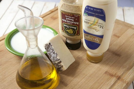 The basics for Pecorino Dressing