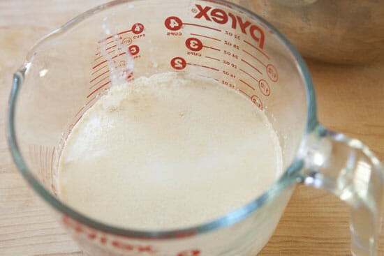 Yeast bubblin.