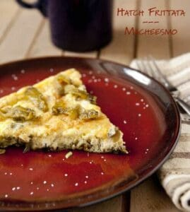 Chili Frittata ~ Macheesmo