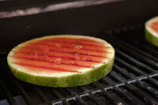 Quick and hot! How to Grill Watermelon