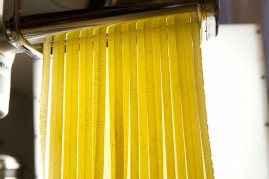 Artsy pasta photo.