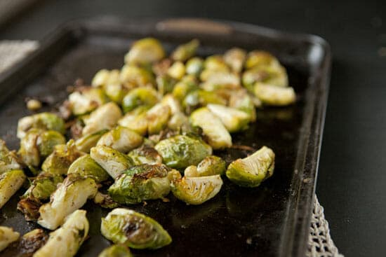 sprouts roasted - Roasted Brussel Sprout Salad