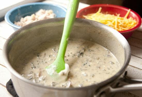 Homemade Tuna Noodle Casserole Cream sauce
